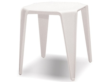 Mobital Yatta White End Table (Sold in 6) MBWENYATTWHIT