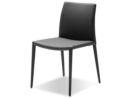 Mobital Zeno Grey Leatherette Dining Chair (Sold in 2)