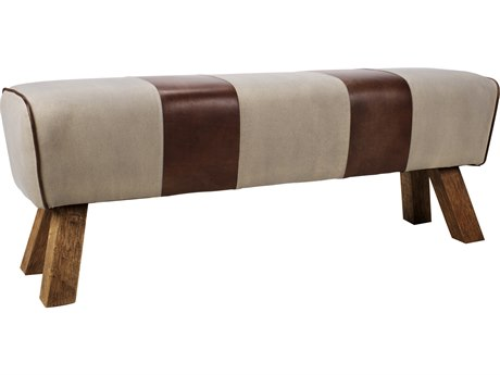 Moe's Home Collection Brown Accent Bench