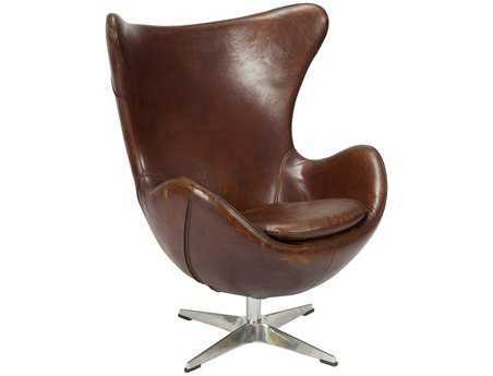 Moe's Home Collection St. Anne Dark Brown Accent Chair