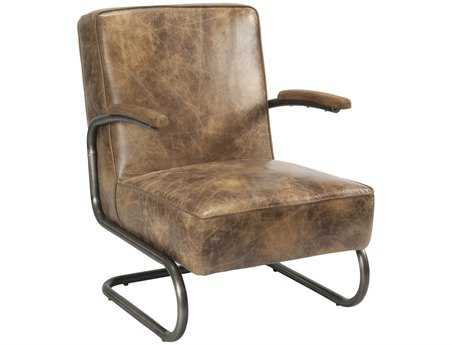 Moe's Home Collection Perth Light Brown Accent Chair