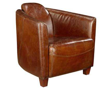 Moe's Home Collection Salzburg Dark Brown Club Chair
