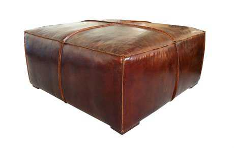 Moe's Home Collection Stamford 37 Square Dark Brown Coffee Table