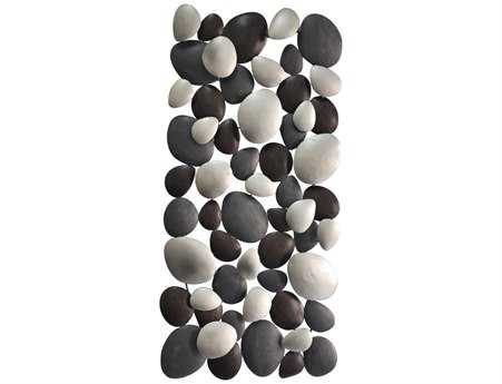 Moe's Home Collection Black Pebble Wall Decor MEMJ100502