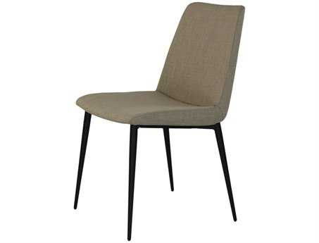 Moe's Home Collection Charlie Beige Dining Side Chair (Set of 2)