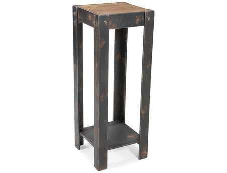 Moe's Home Collection Bolt 13 Square Natural Plant Stand MEHU102024