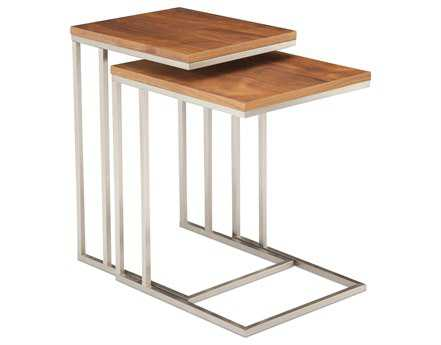 Moe's Home Collection Tabella 17 x 15 Rectangular Nesting Tables (Set of 2)