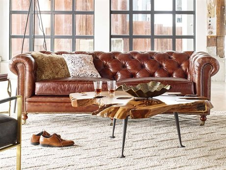 Moe's Home Collection Birmingham Brown Sofa