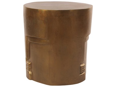 Moe's Home Collection Antique Accent Stool