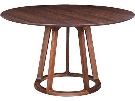 Moe's Home Collection Aldo 47'' Round Walnut Dining Table MECB102703