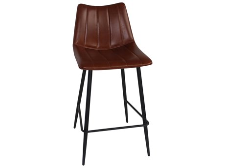 Moe's Home Collection Alibi Set of 2 Brown Counter Stool MEUU100203