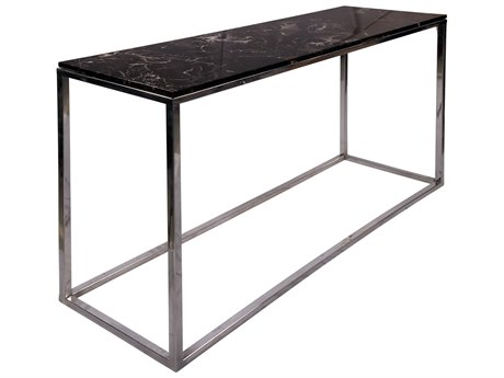 Moe's Home Collection Amelio Black 48'' Wide Rectangular Console Table