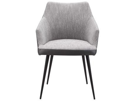 Moe's Home Collection Beckett Grey Dining Arm Chair