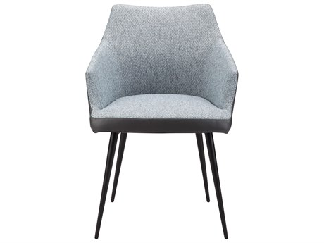 Moe's Home Collection Beckett Blue Dining Arm Chair