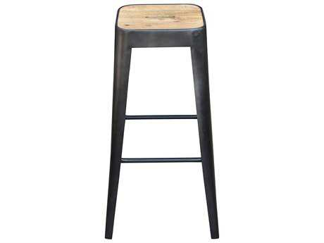 Moe's Home Collection Bistro Black Iron Bar Stool MEVE102502