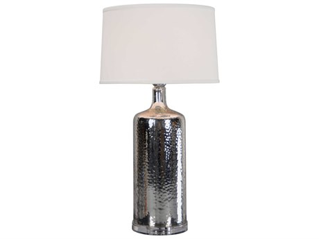 Moe's Home Collection Briggs Silver Table Lamp MERM104330