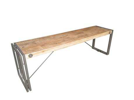 Moe's Home Collection Brooklyn Small Brown Bench MEWN100120