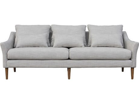 Moe's Home Collection Calista Light Grey Sofa