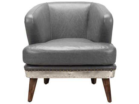 Moe's Home Collection Cambridge Antique Grey Accent Chair