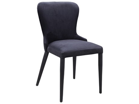 Moe's Home Collection Cleveland Black Side Dining Chair (Set of 2)
