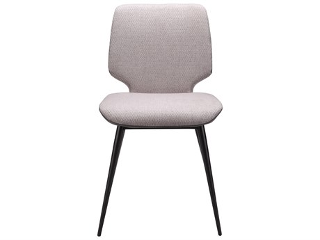 Moe's Home Collection Colton Set of 2 Grey Dining Side Chairs MEEJ102615