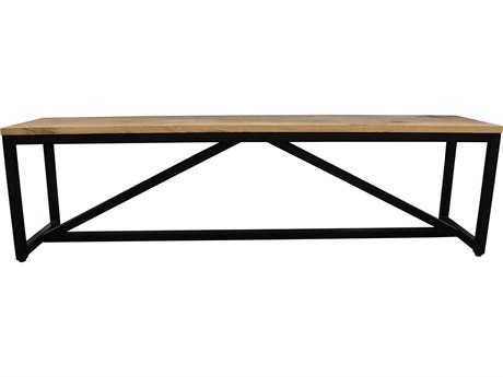 Moe's Home Collection Colvin Brown Bench