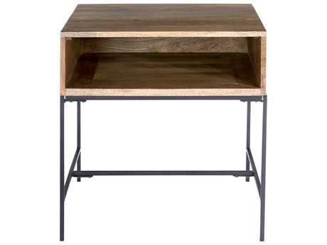 Moe's Home Collection Colvin 22'' Square Natural Side Table