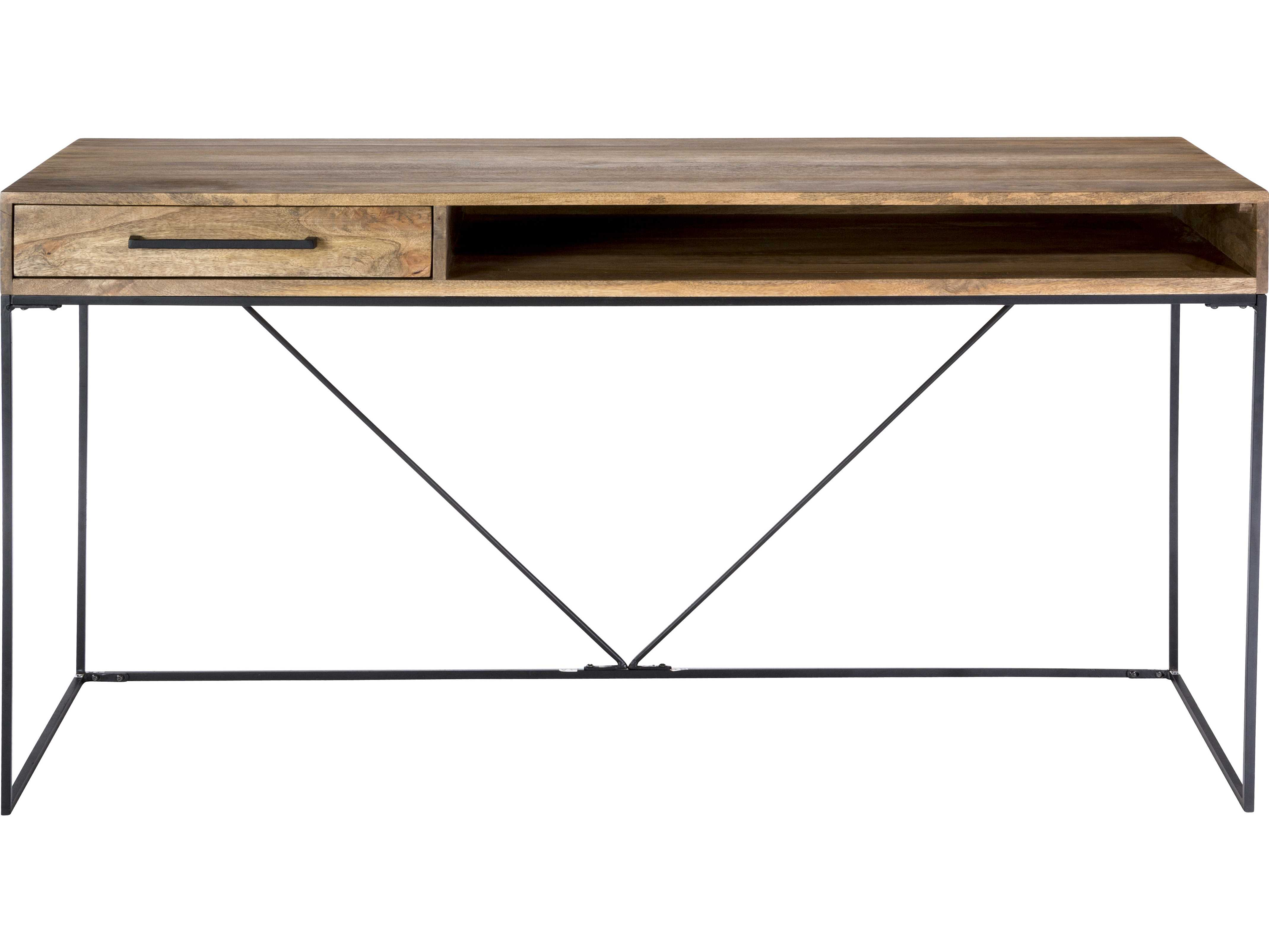 Moe S Home Collection Colvin 60 X 24 Natural Desk