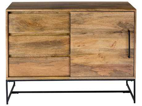 Moe's Home Collection Colvin 40'' x 18'' Solid Mango Wood Sideboard MESR102824