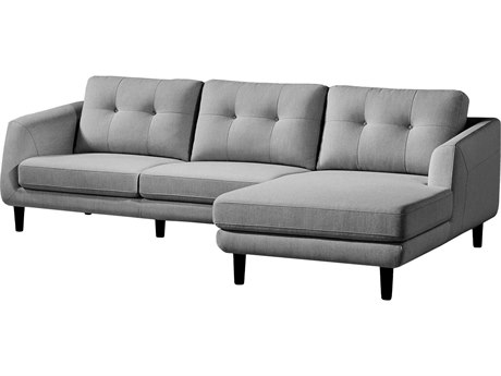 Moe's Home Collection Corey Dark Grey Right Sectional MEMT100225R