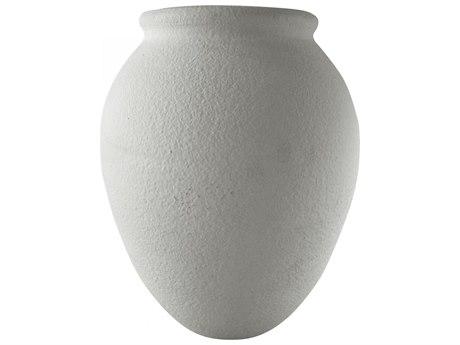 Moe's Home Collection Crema Grey 16'' Wide Vase