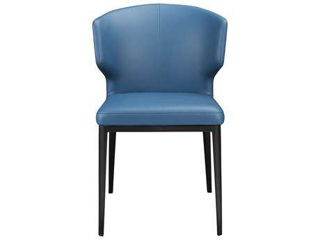 Moe's Home Collection Delaney Side Steel Blue Dining Chair (Set of 2) MEEJ101828