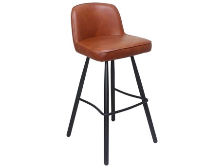 Moe's Home Collection Eisley Brown Side Bar Height Stool