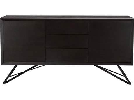 Moe's Home Collection Elemental Grey 65'' x 16.5'' Sideboard
