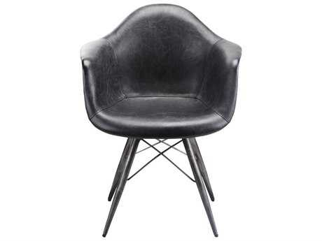 Moe's Home Collection Flynn Black Accent Chair MEPK105502