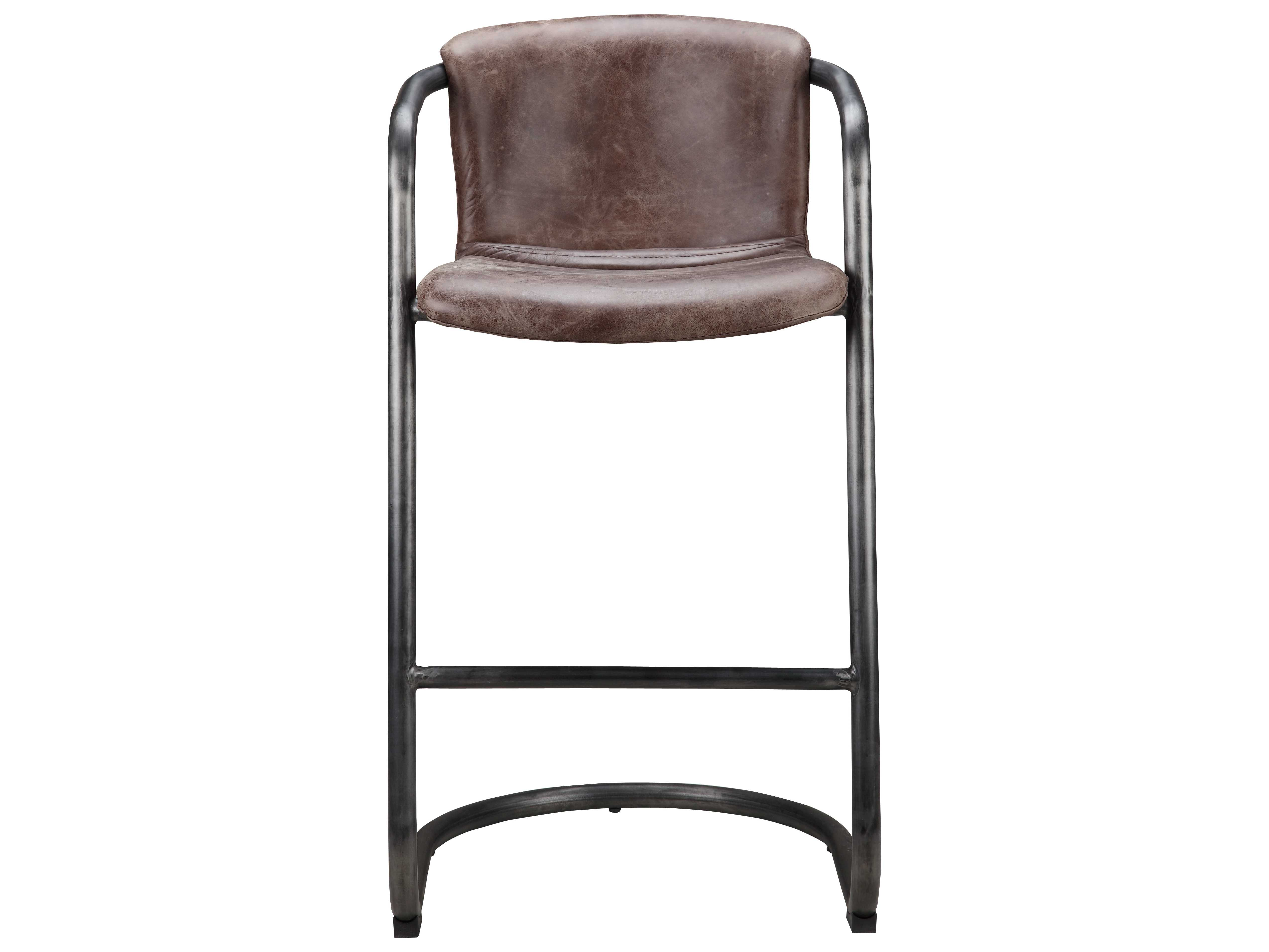 Phenomenal Moes Home Collection Freeman Light Brown Leather Bar Stool Set Of 2 Pdpeps Interior Chair Design Pdpepsorg