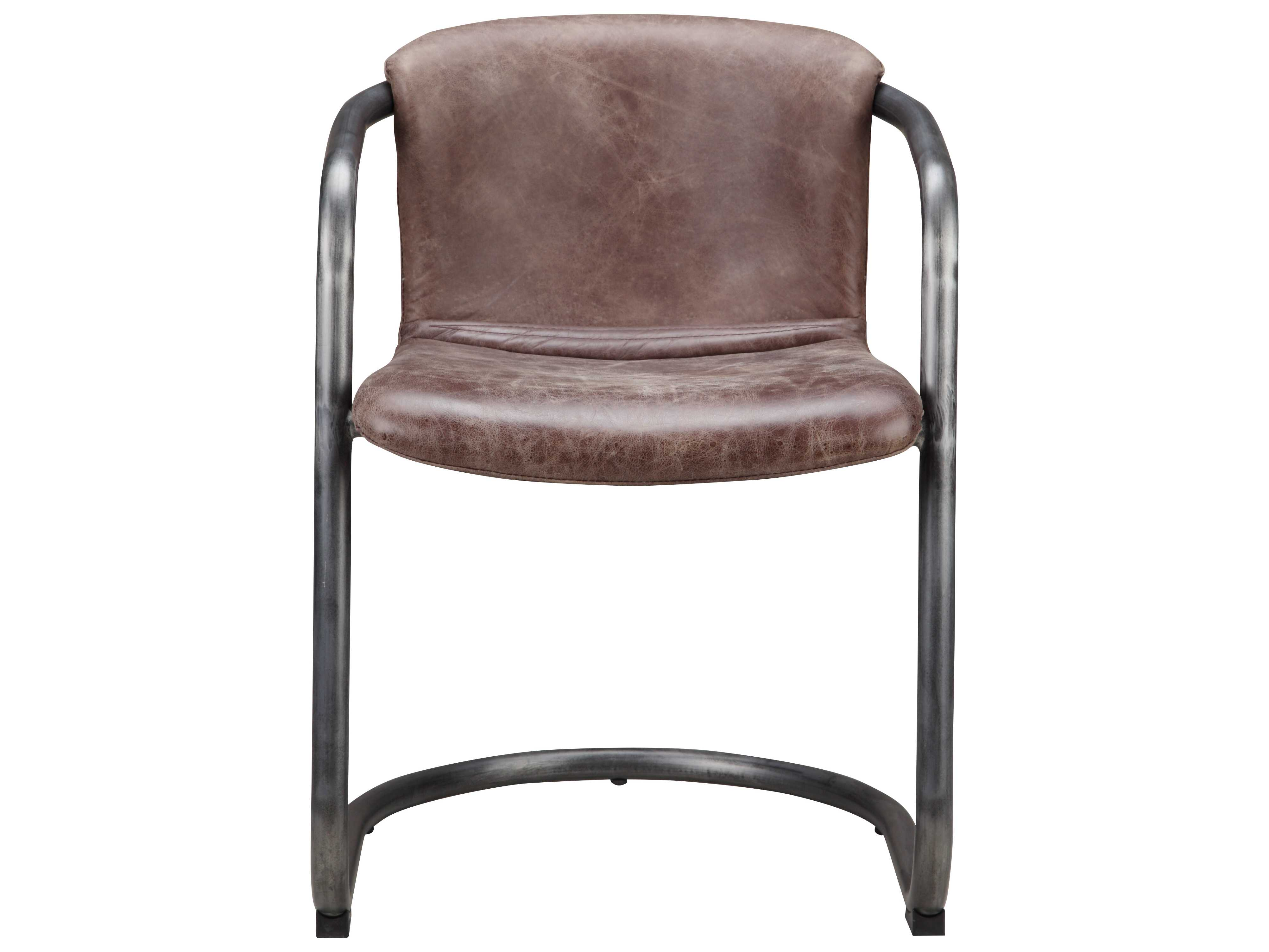 freemans dining room | Moe's Home Collection Freeman Light Brown Leather Dining ...