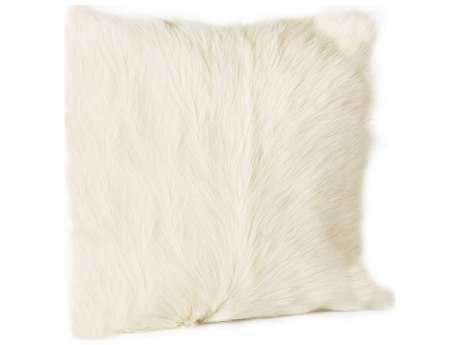 Moe's Home Collection Goat Fur Natural Pillow
