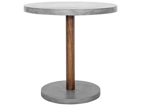 Moe's Home Collection Hagan Dark Grey 35.5'' Round Outdoor Counter Table MEBQ101725
