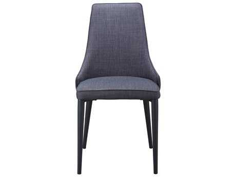 Moe's Home Collection Hazel Dark Grey Dining Chair (Set of 2)