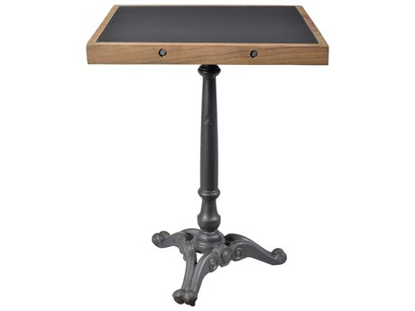 Moe's Home Collection Horizon Iron 24'' Square Cafe Table MEDR125125
