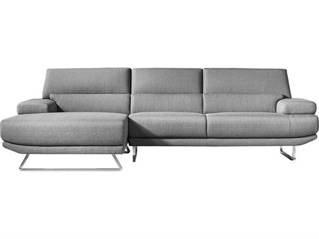 Moe S Home Collection Plunge Dark Gray Sectional Metn100425