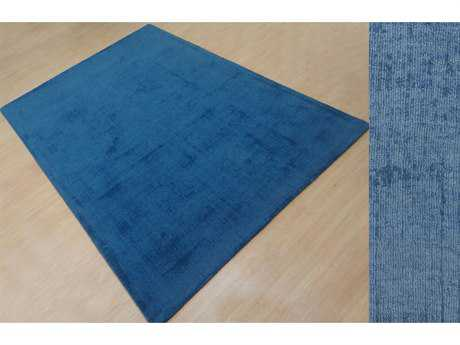 Moe's Home Collection Jitterbug Rug 5X8 Snorkel Blue Rectangular Area Rug MEJH100326