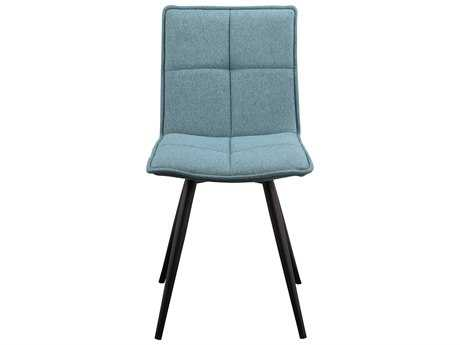 Moe's Home Collection Jojo Tiffany Blue Dining Chair (Set of 2) MEHK101126