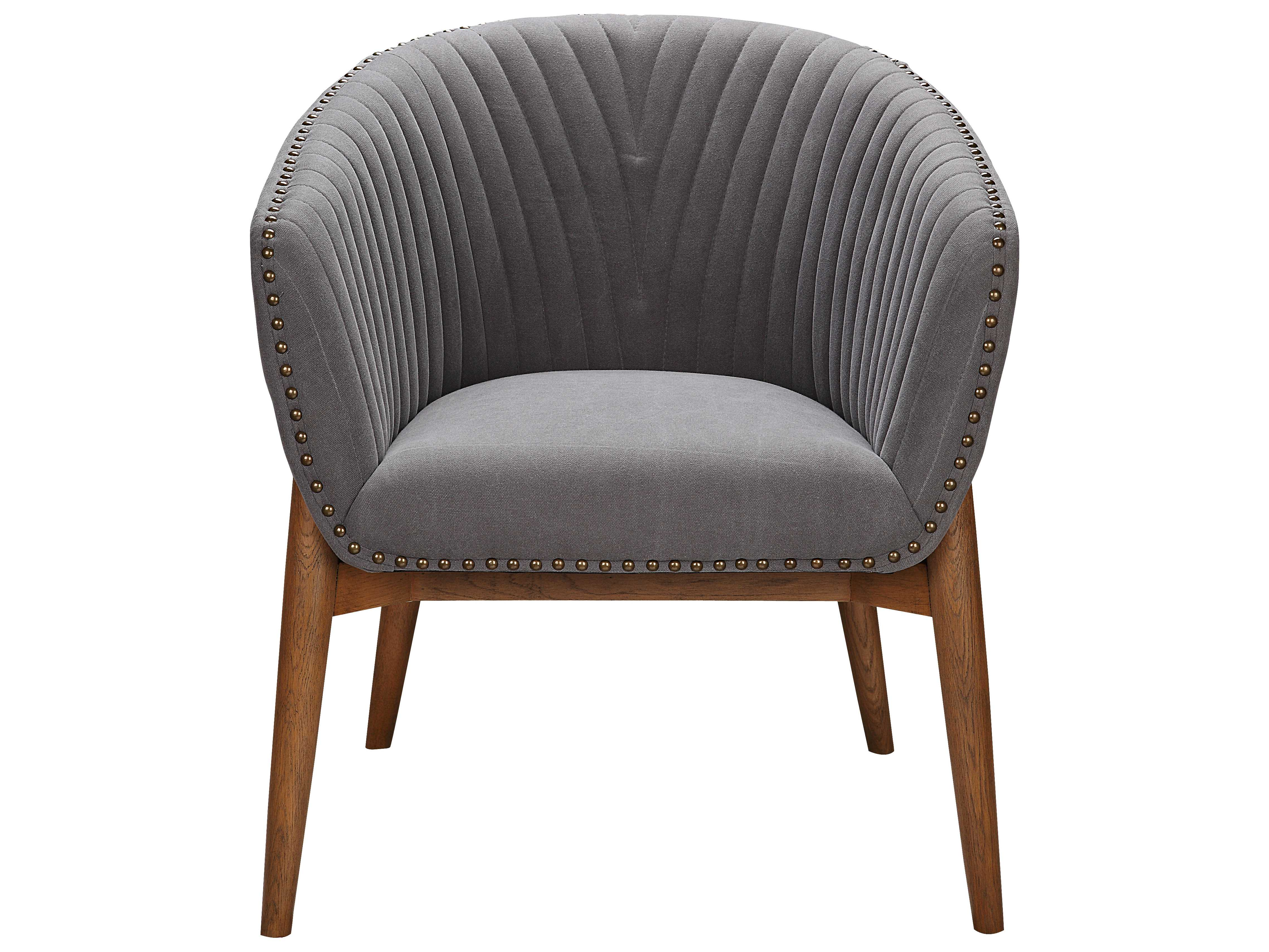 Exceptionnel Moeu0027s Home Collection Kismet Grey Tub Accent Chair ...