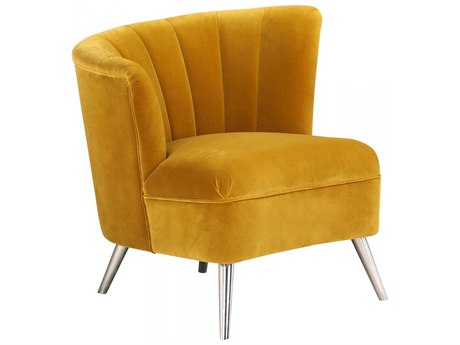 Moe's Home Collection Layan Yellow Left Accent Chair MEME104309