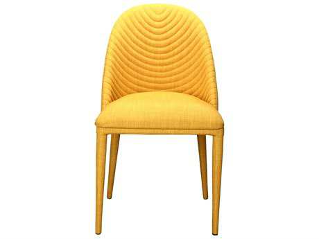 Moe's Home Collection Libby Yellow Dining Chair (Set of 2) MEEH110009
