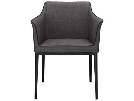 Moe's Home Collection Lotus Black Arm Chair