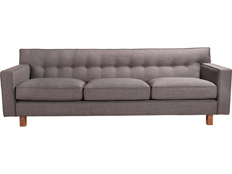 Moe's Home Collection Martyn Charcoal Sofa MERN107407