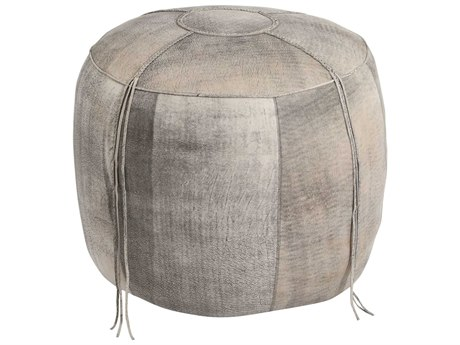 Moe's Home Collection Matteo Grey Ottoman MEGR102815